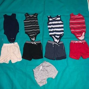 12 month baby boy summer clothes
